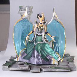 Angels Figures Australia - 170613 QIUCHANY League of Legends 27cm The fallen angels Morgana PVC Action Figure Model Toy Dift Collection