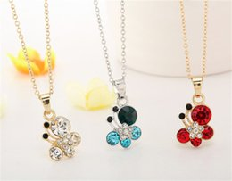 Gold Emerald Pendant Canada - Beautiful Flash diamond crystal butterfly pendant necklace CZ Diamond Pendant Necklaces Long Chain for Women Jewelry