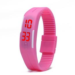 $enCountryForm.capitalKeyWord UK - 2017 Fashion rectangle Bracelet boys girls Touch LED Watch Sport digital men women unisex jelly candy rubber wrist Watches XMAS GIFES