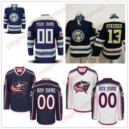 61175cbec Stitched Custom Columbus Blue Jackets mens womens youth OLD BRAND royal  White Customized navy Third Personalized Hockey cheap Jerseys S-4XL cheap  hockey ...