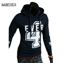 $enCountryForm.capitalKeyWord NZ - Wholesale- NIBESSER Brand Men Hoodies Letter Printed Long Sleeve Hoodies&Sweatshirts Men PUllover O-Neck Men Plain Casual Hoodies New