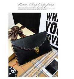 Boston Tote Bag Free Shipping Canada - Free Shipping+Wholesale Womens Envelope Scalloped Edge Clutch Purses Lady Handbag Tote Shoulder Hand Bag,100pcs lot 1203#03