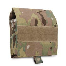 Chinese  Outdoor Game Multifunction Map Bag Tactical Pouch Army MOLLE Hunting Waist Pouches Camo Fabric manufacturers