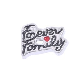 $enCountryForm.capitalKeyWord Canada - 20pcs lot free shipping good quality new type alloy forever family floating charms for glass living memory lockets
