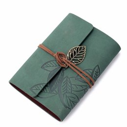 vintage loose leaf paper 2019 - Vintage Dark Green PU Leather Cover Loose Leaf Blank Notebook Journal Diary Gift (1, Dark Green)