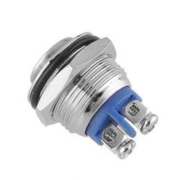 1 x 16 mm de coches de botón impermeable interruptor de lavado terminales de alta Reactable tornillo de transporte gratuito, Dandys