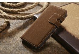 $enCountryForm.capitalKeyWord Canada - Luxury Case for iphone 7 6 4.7 inch, Retro Flannelette Leather wallet cover for iphone7 plus 5.5 inch, New Arrival High Quality