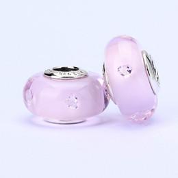 10 unids / lote murano perlas de vidrio perlas sueltas hilo grano hermoso perlas joyería al por mayor T8 en venta