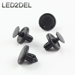 liner clips Australia - Front Fender Liner Bumper Engine Under Cover Push-Type Retaining Clip For BMW GM Toyota Lexus Universal 7mm Hole Retainer Fastener Rivet