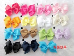Discount hair color diy - Hot Sales Mix Color 3.5'' Chiffon Flowers DIY Fabric Bow Girl's Hair Accessories Handmade Flower