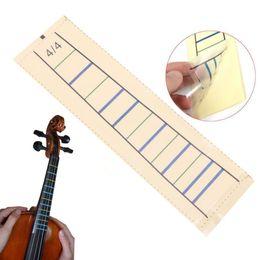 violin fingerboard 2019 - Wholesale- Violin Fretboard Sticker Tape Fiddle Fingerboard Chart Finger Marker For 4 4 1PC cheap violin fingerboard