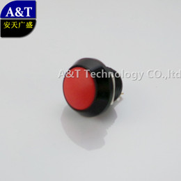 momentary switch metal Canada - High Quality Black Shell Metal anti vandal 12mm Momentary Small Colorful Push Button Switch (SPST ,Normally Open Micro Pushbutton Switches )
