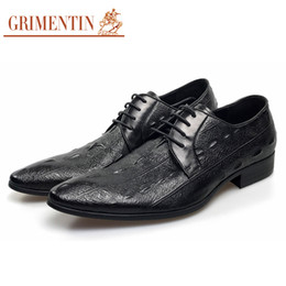 $enCountryForm.capitalKeyWord NZ - GRIMENTIN Mens dress shoes genuine leather black men oxford shoes hot sale crocodile pattern pointed toe formal business mens shoes YJ