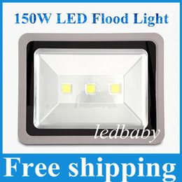 Fedex light online shopping - LED Flood Light W W W AC85 V IP65 Waterproof Outdoor Lighting Warm White Cool White Fast Delivery by DHL Fedex
