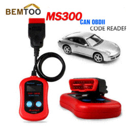 Scanning Tools Canada - Autel MaxiScan MS300 CAN Auto Car OBD2 OBD II Diagnostic Scanner Code Reader Scan Tool ,Free Shipping