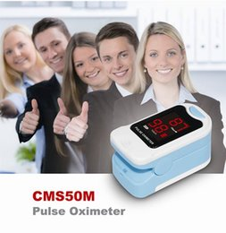 Wholesale CMS50M Fingertip Pulse Oximeter Blood Oxygen Spo2 PR Monitor with Carry Case LED BLACK POUCH