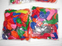 Long Magic Balloons Canada - Water filling water injection water balloons The producer Water polo bouquet of booster packs Magic balloon Magical balloon water bomb 50bag