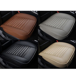 2017 High Quality Bamboo Charcoal PU Leather Auto Car Seat Cover Cushion Full Surround Breathable Interior Accessories Decoration