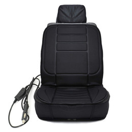cushion onever winter heated covers 12v cigarette lighter electric heating pad universal car heated seat cushion - Car Seat Cushions