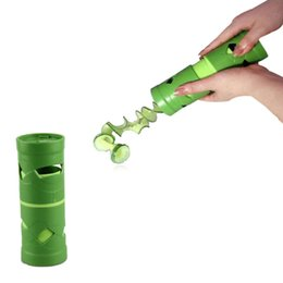$enCountryForm.capitalKeyWord NZ - Amazing High Quality Vegetable Fruit Cucumber Twister Cutter Slicer Processing Kitchen Tool XX15-3-7