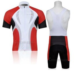 $enCountryForm.capitalKeyWord Canada - 2014 hot sale outdoor tight clothes Red cycling team jersey rock racing bicycle suit lightweight short sleeve bike wear+bib shorts