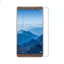Huawei Mate Screen Film Canada - Screen film For Huawei Mate 10 Mate 10 Pro,9H Anti-Scratch Tempered Glass Screen Protector Film