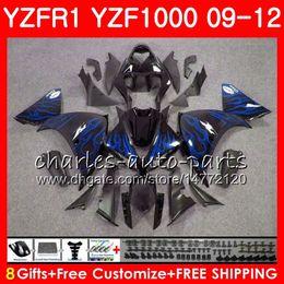 $enCountryForm.capitalKeyWord Australia - Body For YAMAHA YZF 1000 R 1 blue flames YZFR1 09 10 11 12 Bodywork 85NO41 YZF1000 YZF R1 2009 2010 2011 2012 YZF-1000 YZF-R1 09 12 Fairing