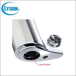 Auto soAp dispensers online shopping - Hand Free Stainless Steel Automatic Soap Dispenser Sensor Auto Sanitizer Lotion Dispenser Liquid Soap Dispenser for Kitchen Hotel