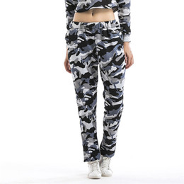 size camouflage leggings UK - Camouflage Leggings Winter Women's Leggins Sexy Plus Size Thick Stretch Trouser High Waist Army Leggings Pants S-2XL High Quality