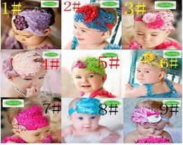 $enCountryForm.capitalKeyWord NZ - Children feather hair band fashion hair accessories feather headband topbaby styling hair band infant section 10pcs