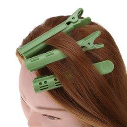 $enCountryForm.capitalKeyWord NZ - 18pcs  Box Wave Fluffy Hair Root Folder Styling Salon Perm Bar Rods Rollers Clips Punta Hot Clip Bigoudis Magique Curler Un433