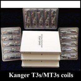 kanger t3s tank Canada - 100% original Kanger MT3S T3S coil head Clearomizer Coils MT3S T3S T3 s atomizer tanks Replacement 1.8 2.2ohm heads