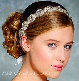 $enCountryForm.capitalKeyWord Australia - Hot ! 2016 Luxury Manual Diamond Crystal Bridal Headbands High Quality Bridal Hair Hoop Wedding Accessories Cheap Bridal Hair Tiaras