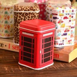 $enCountryForm.capitalKeyWord NZ - Mini Tin Storage Box Small Accessory Organizer Rectangle Telephone Booth Cartoon Bunny Flower Fine Printings Portable