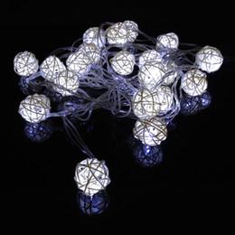 $enCountryForm.capitalKeyWord Canada - LED Modeling String lights white Sepak takraw 4m set 20 LEDs modeling String light Fairy Lights Lamp for Christmas Party Wedding Bedroom