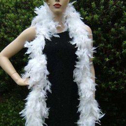 $enCountryForm.capitalKeyWord Australia - Feather Boas White Turkey Feather Boa Large Chandelle Marabou Wedding Ceremony Boas Wedding Party DIY Decorations Feather Scarf