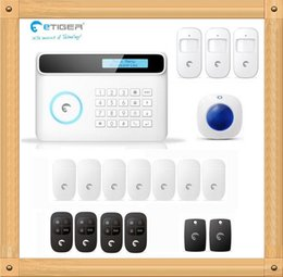 $enCountryForm.capitalKeyWord Canada - DIY Kit 2015 Newest eTIGER S4 Set Wireless GSM Alarm System 433Mhz Home Security Protection indoor siren