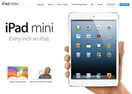 Mini tablets online shopping - Refurbished Original Apple iPad mini st Generation GB G G Wifi IOS A5 quot Tablet PC with Retail Box Accessories DHL free
