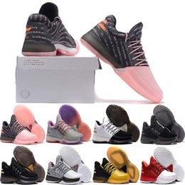 564212e98220 2018 New Hot Harden Vol. 1 BHM Black History Month Mens Basketball Shoes  Fashion James Harden Shoes red Outdoor Sports Training Sneakers