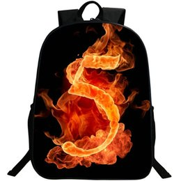$enCountryForm.capitalKeyWord UK - 5 lucky number backpack Casual design daypack Fire show schoolbag Photo rucksack Sport school bag Outdoor day pack