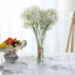 $enCountryForm.capitalKeyWord Canada - 20 8 Artifical Babysbreath Wedding Decorative Plastic Gypsophila 162 Small Flowers Bridal Bouquet Flower Good Quality Flores