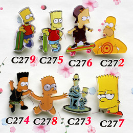 african figures 2019 - 10 different style popular cartoon acrylic brooch cool badge price for students free shipping cheap jewelry dropship C27