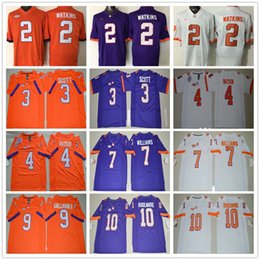 ... College Clemson Tigers 2 Sammy Watkins Orange White Purple 7 Mike  Williams 9 Wayne Gallman II ... 202372d26
