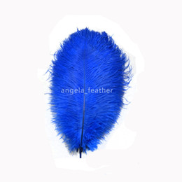 $enCountryForm.capitalKeyWord Canada - Free Shipping Royal blue 12-14inch 30-35cm 200pcs lot Dyed Ostrich Feathers Plumes Table Decoration Wedding Centerpieces
