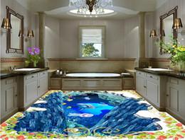 $enCountryForm.capitalKeyWord UK - wallpaper for bathrooms 3D underwater world floor pvc vinyl flooring bathroom