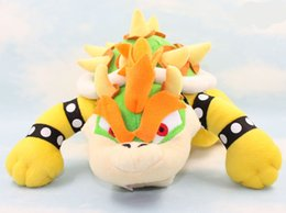 mario plush toys bowser 2019 - EMS Newest Super Mario plush toys 10inch Koopa Bowser dragon plush doll Brothers Bowser JR soft Plush 25cm toys B001 che