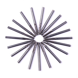 $enCountryForm.capitalKeyWord NZ - Free Shipping 20pc Tungsten Carbide Rotary Burrs Set for Dremel Accessories Milling Cutter Drill Bit Engraving Bits