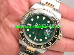 automatic ceramic stainless 2019 - Details about wow GREEN DIAL CERAMIC BEZEL 116713 Sapphire 40mm automatic Mens Men's Watch Watches cheap automatic