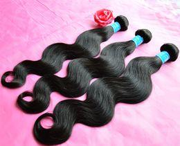 Brazilian Virgin Human Hair Bundle 5pcs Canada - Mongolian Body Wave Wavy Virgin Human Hair Weave Bundles Cheap Eurasian Malaysian Peruvian Brazilian Indian Remy Hair Extension 3 4 5Pcs Lot