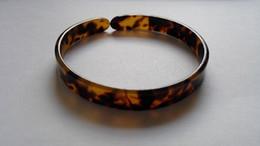 Chinese  turtle shell bangle tortoise resin bracelet turtle resin bracelet 0.9cm (0.47inch) x 7.00cm (2.76inch) manufacturers